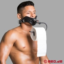 Toilet Paper Attachment - Accessory for Humilator Gag