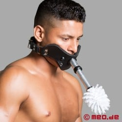 Toilet Brush Attachment - Accessory for Humilator Gag