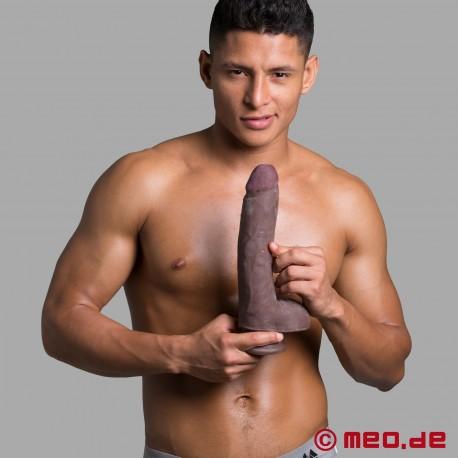 Jamal Dildo Nero Realistico 26 cm