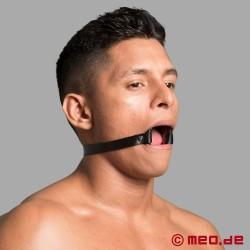 """Bavaglio """"bocca spalancata"""" - bavaglio con O-ring"""