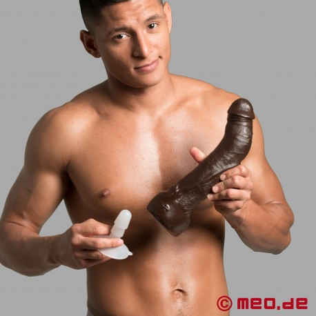 Dildo Realistic Cock Black Thunder