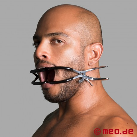 Divaricatore per bocca con protezione per i denti DeLuxe