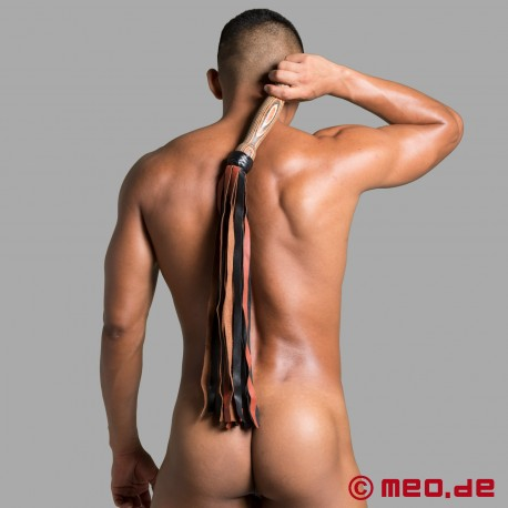 HURTME: Leather Flogger Arabica