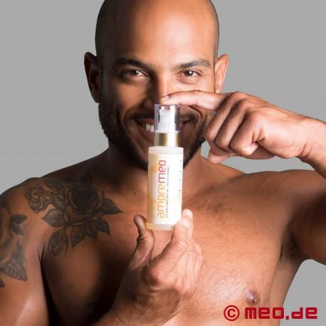 Gel de massage intime d'AMOREMEO – Caramel salé