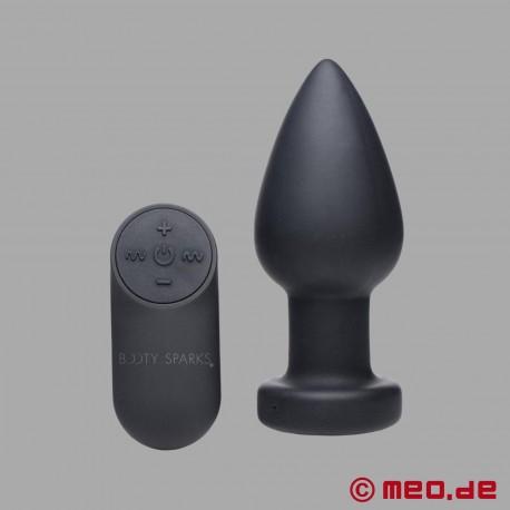 Plug anale STROBO con luce - plug anale con stroboscopio a LED