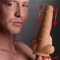POWER POUNDER - Realistischer Analdildo mit Stoßfunktion