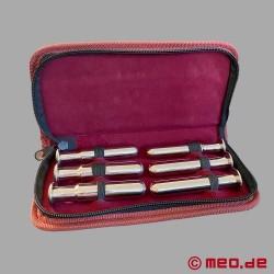 Dilator kit with six penis plugs