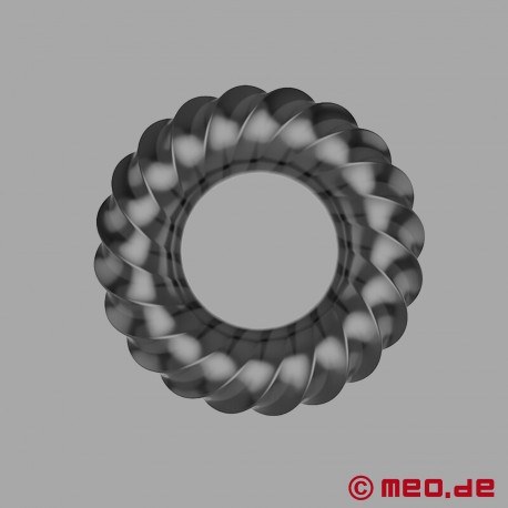 Penis ring made of TPE - 3D spiral