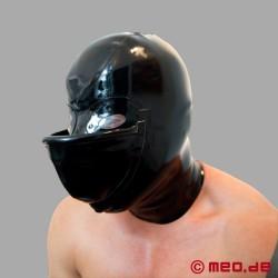 Masque en latex avec urinoir