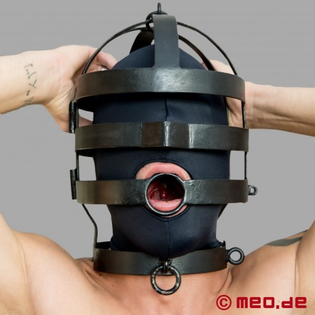 Kopfgitterkäfig aus Stahl