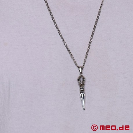Necklace with Vajrayana pendant