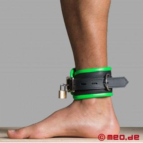 Cavigliere in pelle - nero/verde - Amsterdam