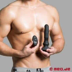 PUSH IT - Swelling and Thrusting Plug with Remote Control