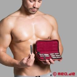 Kit de dilatation avec 6 plugs péniens