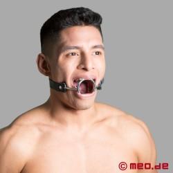BDSM Ringknebel mit Zungendrücker