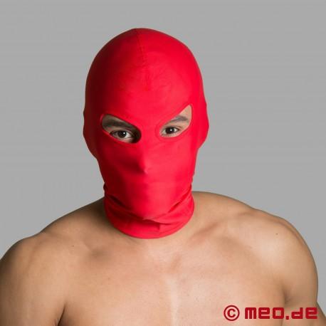Maschera BDSM in spandex - aperture per gli occhi
