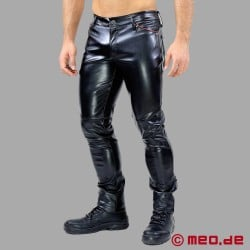 Gladiator Leather Pants by TOF Paris