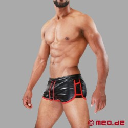 Cruise DeLuxe Shorts black/red TOF Paris