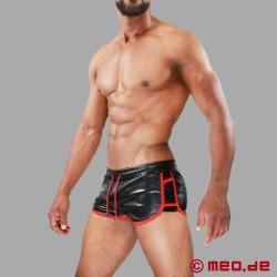 Cruise DeLuxe Shorts nero/rosso TOF Paris