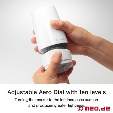 Tenga Aero Dial Silver Ring Masturbator