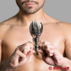 Abschließbarer Butt Plug - Spreizbarer Anal Plug