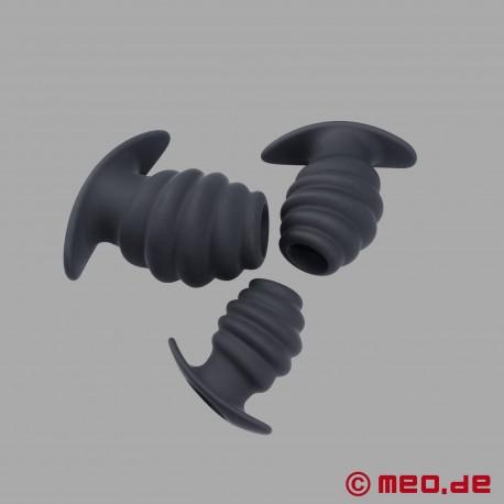 Spiral Tunnel Butt Plug