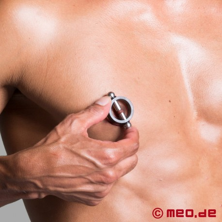 Dr. Sado's Nipple Pincher - Limited edition in black