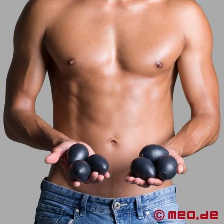6 Sinnovator Eggs Platinum Silicone Kegel Balls