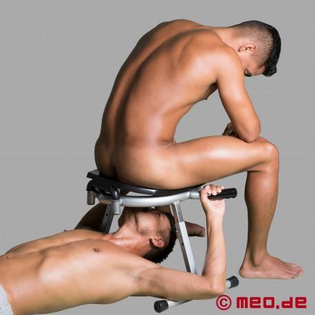 RIM CHAIR - Höhenverstellbarer Rimming Stuhl mit Griffen