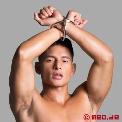 Bondage Cross Handcuffs