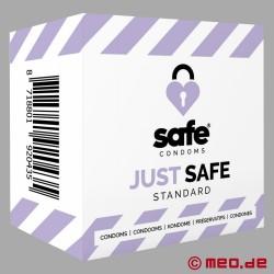 SAFE - Préservatifs - Standard - 5 Préservatifs