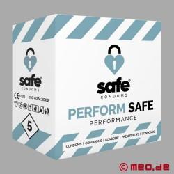 SAFE - Préservatifs - Performance - 5 Préservatifs