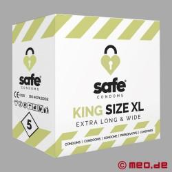 SAFE - Préservatifs - King Size XL - 5 Préservatifs