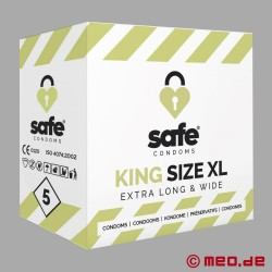 SAFE - Preservativi - King Size XL - 5 Preservativi