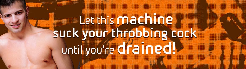 La nostra spremitrice è una macchina professionale per la masturbazione sviluppata appositamente per gli uomini.