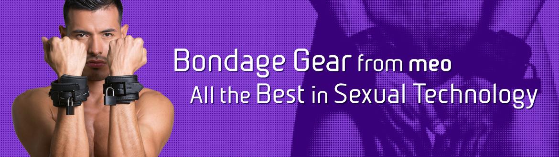 MEO ist der Bondage und BDSM Spezialist. Bondage Handfesseln und Bondage Handmanschetten in großer Auswahl.
